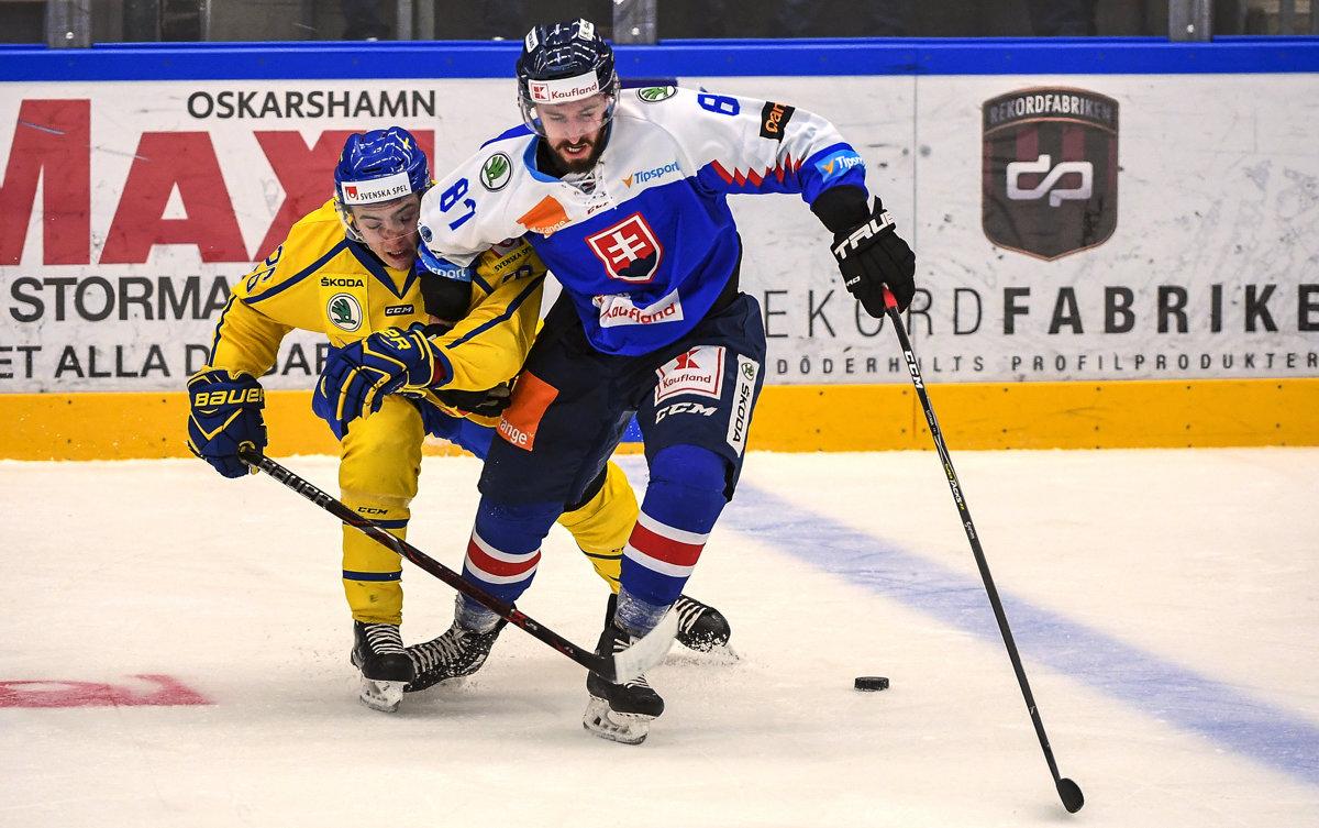 302ce1ba7fbac Švédsko : Slovensko - EHC 2018 - Online - 2. zápas - Šport SME
