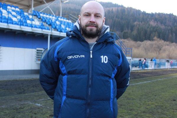 Jaroslav Šidlo, tréner MŠK Tatran Krásno nad Kysucou.
