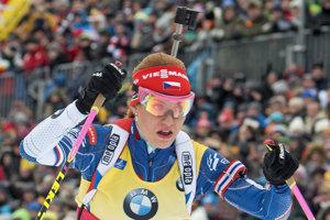 Česká biatlonistka Gabriela Koukalová trpela vážnymi problémami.
