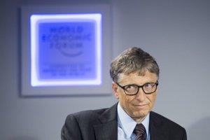 Bill Gates patrí k najlepšie zarábajúcim mužom planéty.
