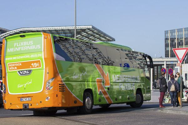 Autobus spoločnosti Flixbus.