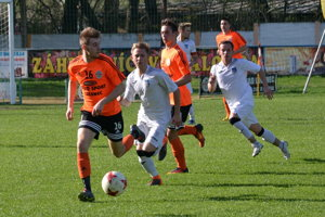 Ilustračné foto zo zápasu MŠK Novohrad - Martin.