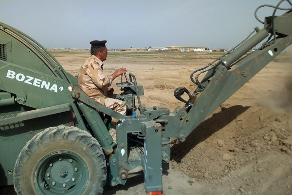 Slovenskí vojaci cvičili irackých kolegov.