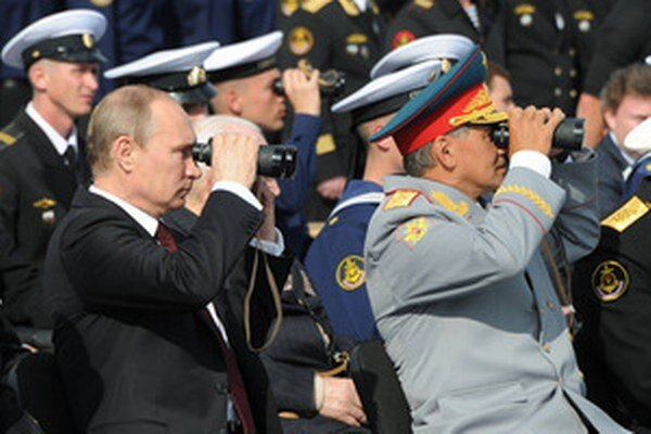 Šojgu a Putin.