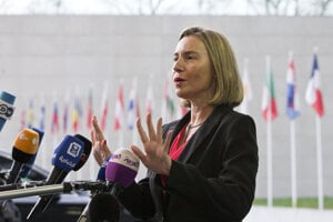 Federica Mogheriniová, šéfka zahraničnej politiky Európskej únie.