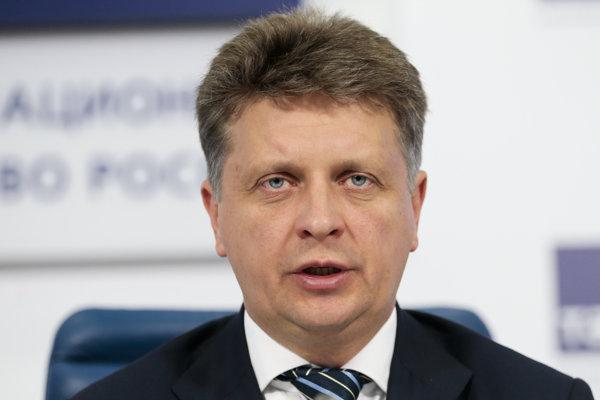 Ruský minister dopravy Maxim Sokolov.