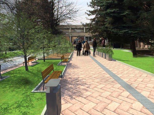 Hrnčiarska ulica po premene.
