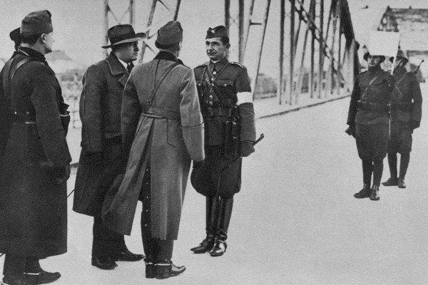 November 1938 na slovensko-maďarskej hranici.