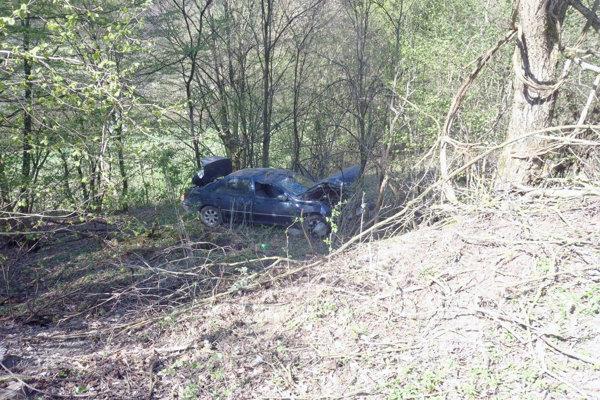 Nehoda pri Hornej Breznici.