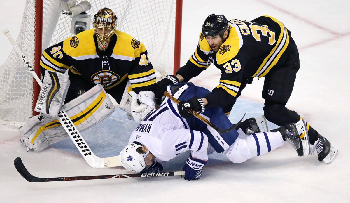 1279ddbc04521 Boston vyradil Toronto (NHL 2017/18, 1. kolo play off) - Šport SME