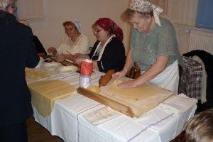Tradičná výroba cestovín - gagorikov.