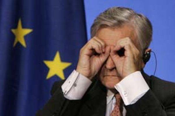 Šéf Európskej centrálnej banky Jean Claude Trichet.