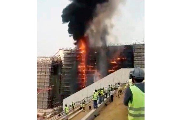 Požiar nespôsobil žiadne škody.