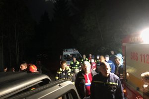 Žena zavolala na tiesňovú linku. Pomáhali ju hľadať aj dobrovoľní hasiči z Korne.