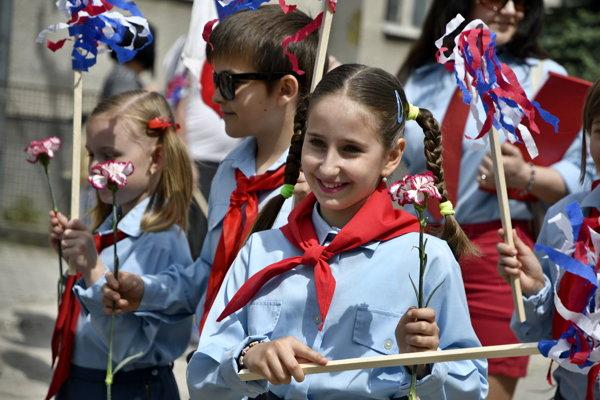 Oslavy 1. mája sa tu uskutočníli už po ôsmy raz.