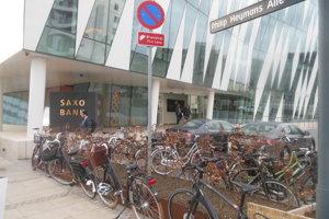 Centrála Saxo Bank v Kodani