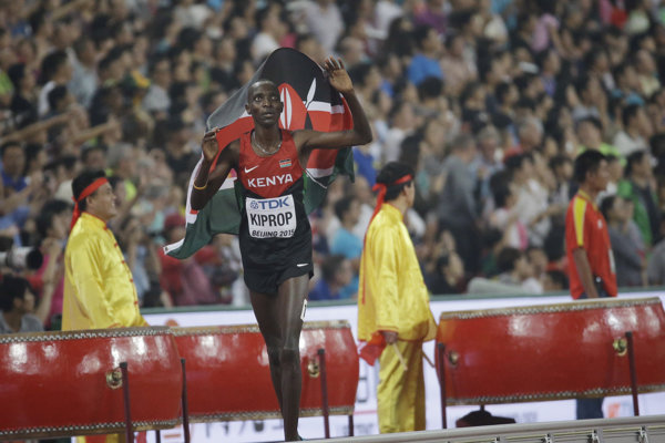 Kenský bežec Asbel Kiprop čelí dopingovým obvineniam.