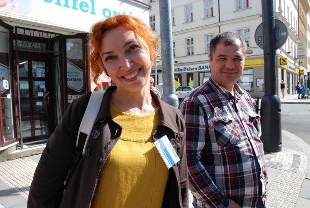 Aľona a Denis Marčkovovci, občanski aktivisti z Podnesterska.