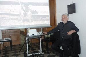 Štefan Klein mal prezentáciu v Nitrianskej galérii.