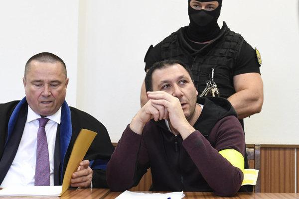 Antonino Vadala na krajskom súde.