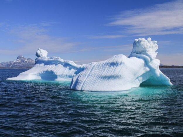Grónsky ľadovec.