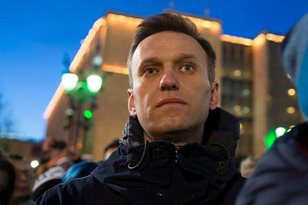Ruský opozičný vodca Alexej Navaľnyj.