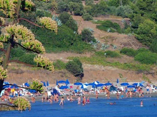 Korčula, pláž Vela Pržina