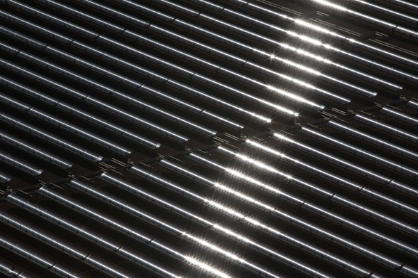 Solárne panely v Ouarzazate.