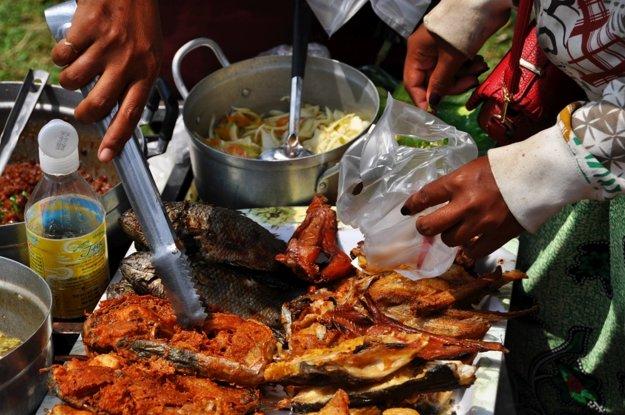 Streetfood v Phnom Penh