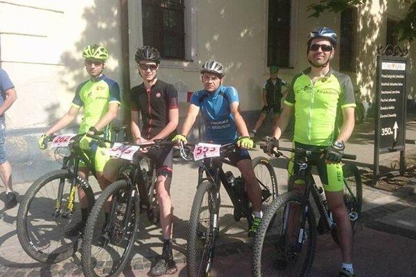 Cyklisti FTC.