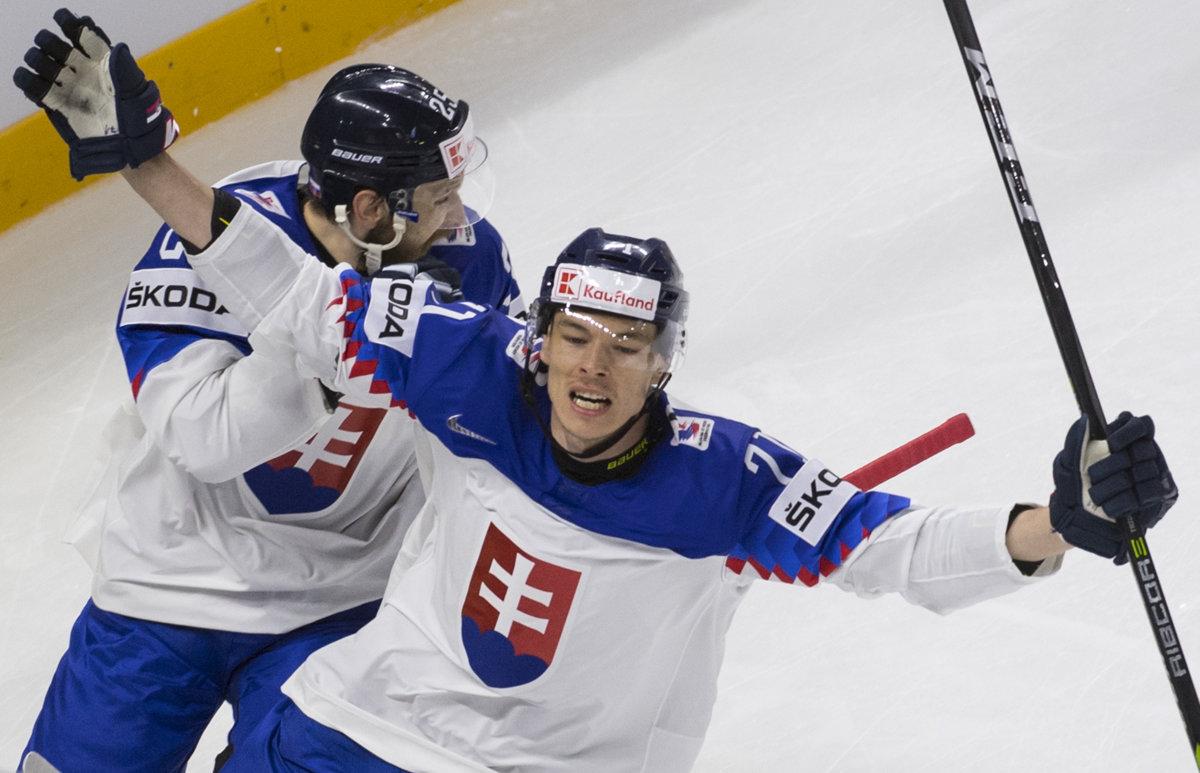 28290e4f191de Slovensko zdolalo Rakúsko 4:2 na MS v hokeji 2018 - Šport SME