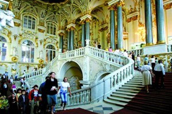 Expozície Ermitáže boli širokej verejnosti sprístupnené až v 20. storočí.