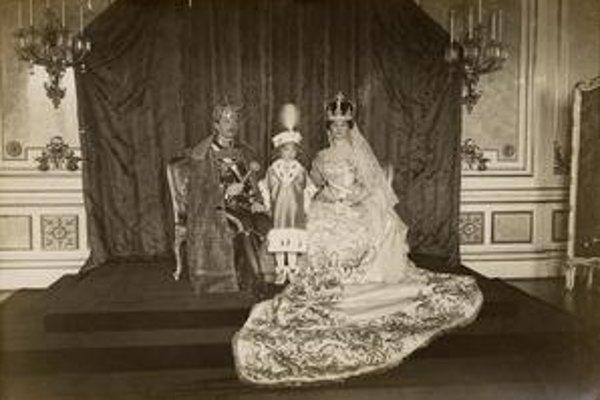 Karol, Otto a Zita Parmská.