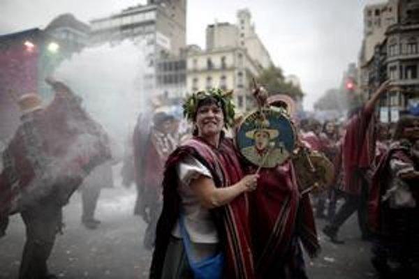 Veľkolepé oslavy Májovej revolúcie v Argentíne, no najmä v Buenos Aires trvajú už niekoľko dní. Vyvrcholia 25. mája.