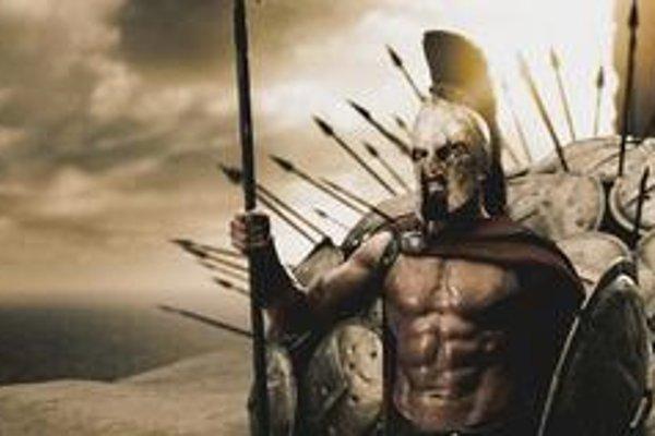 Leonidas vo filme 300.