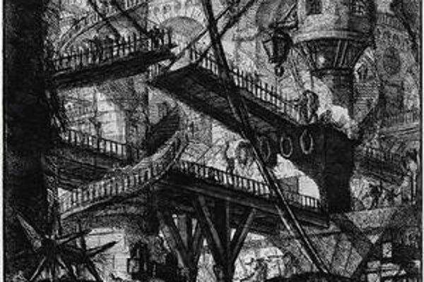 Piranesi si detaily domýšľal. Predtým však podrobne skúmal staré stavby.