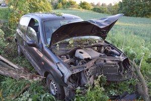 Výsledok nočnej jazdy pod vplyvom alkoholu.