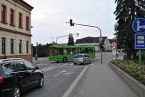Jediný semafor v Starej Ľubovni vypli.