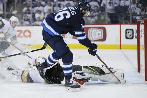 Hokejisti Winnipegu vyhrali úvodný zápas semifinále Západnej konferencie.
