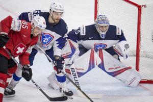 Hokejisti Švajčiarska zdolali Francúzsko.