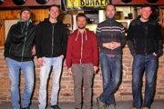 Aktivisti z občianskeho združenia Godot, zľava: Palo, Jano, Jozef, Majco a Marek.