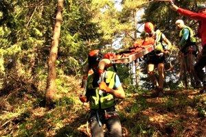 Horskí záchranári zo Slovenského raja
