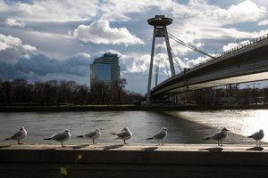 Most SNP v Bratislave.