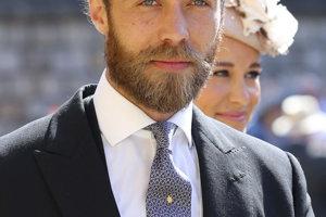 James Middleton, syn Carole a Michaela Middletonovcov a brat vojvodkyne Kate.