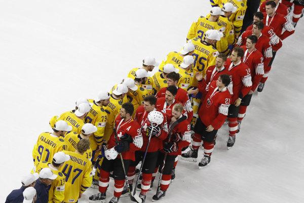 Švajčiarsko siahalo po zlatej medaile. Napokon titul majstra sveta obhájili Švédi.
