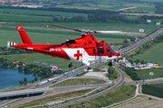 Dve deti musel záchranársky vrtuľník previezť do Martina.