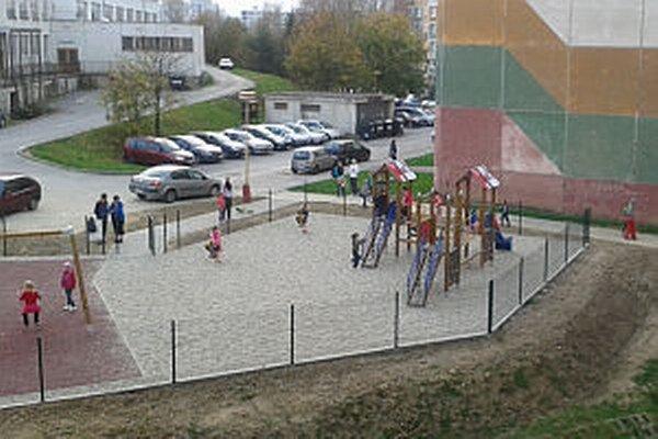 Detské ihrisko otvorili začiatkom týždňa.