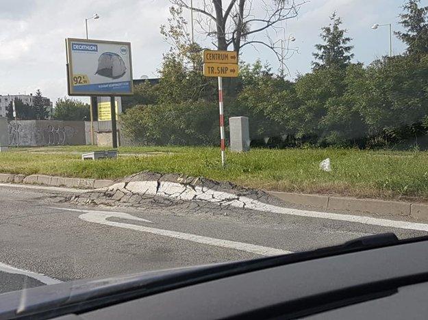 V prípade Popradskej čakajú na dopravné značenie.