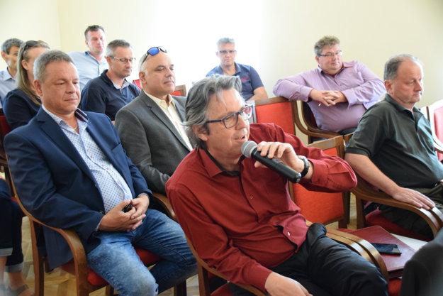 Otázky z publika.