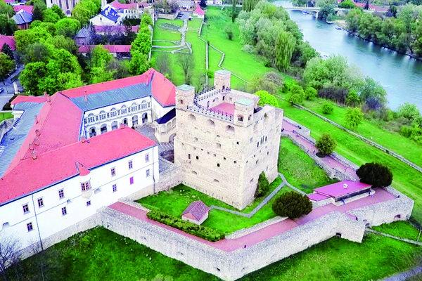Rákócziho hrad v Sárospataku.